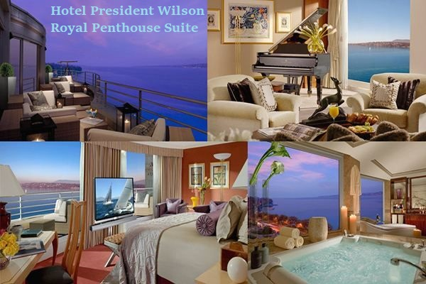 Hotel President Wilson Royal Penthouse Suite